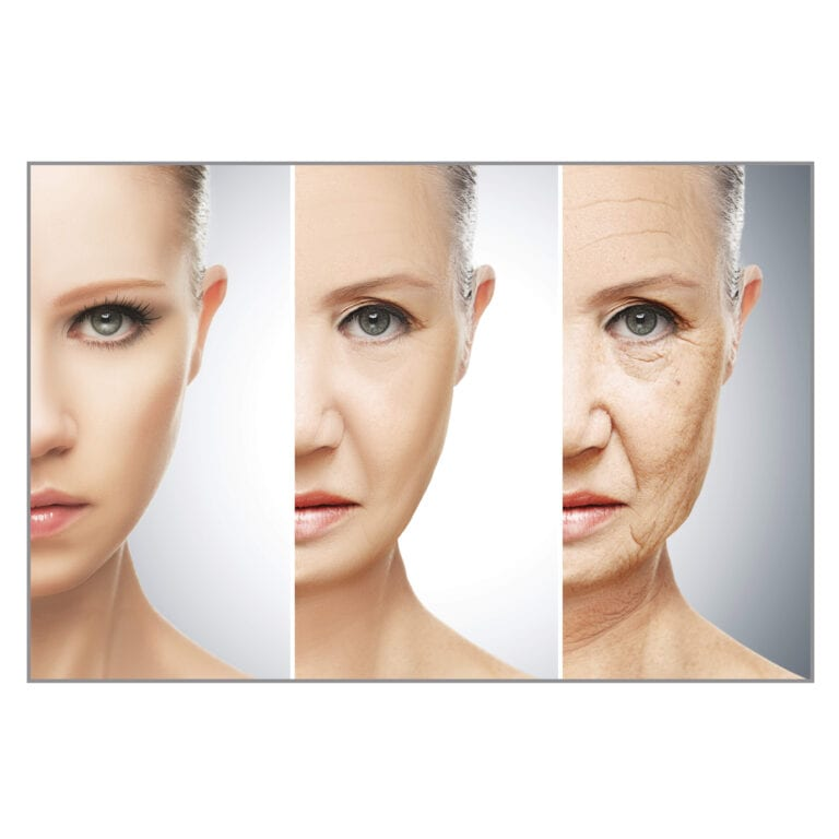 Beauty Pulse ageing woman square