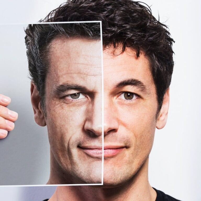 Beauty Pulse man aging